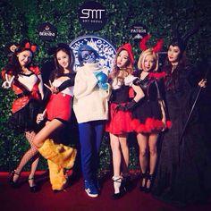 151029 SMTOWN 'WorldLand' HALLOWEEN Party SNSD Yoona Yuri Sooyoung Tiffany Hyoyeon Seohyun