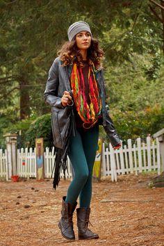 Infinity Scarf, Multicolor Silk Sari Scarf, Loop Scarf, Ready to Ship on Etsy, $20.00