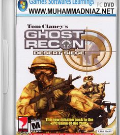 Ghost Recon Desert Siege Game Cover