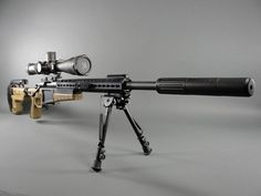 Accuracy International AX 700 Chassis that modifies the Remington 700. Very adaptable with side-folding, adjustable stock. It's a simple drop-in installation that requires no gunsmithing.