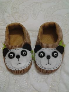 Pantufa para meninos! Panda