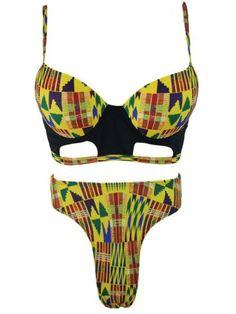 GET $50 NOW | Join RoseGal: Get YOUR $50 NOW!https://m.rosegal.com/bikinis/high-waist-tribal-underwire-bikini-1142421.html?seid=10376984rg1142421