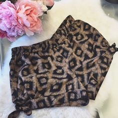 ✨HP✨ F21 Tribal Shorts Cute tribal shorts that have knots on the side. You could wear it high waisted if you want. Only worn a couple of times. My price is firm. No trades. Forever 21 Shorts