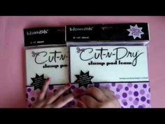 ▶ Tutorial: Fabrica tus propios sellos de foam con Cut and dry de @Ranger Industries - YouTube