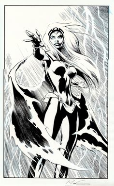 Storm - Alan Davis  More @ http://pinterest.com/ingestorm/comic-art-storm & http://pinterest.com/ingestorm/comic-art-x-men & http://groups.yahoo.com/group/Dawn_and_X_Women & http://groups.google.com/group/Comics-Strips & http://groups.yahoo.com/group/ComicsStrips & http://www.facebook.com/ComicsFantasy & http://www.facebook.com/groups/ArtandStuff