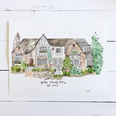 What's cooler and more unique way to show off your first childhood home you spent all your memories in than getting a portrait of that magical place? Or your first restaurant you opened? Or even the h                                                                                                                                                                                 More