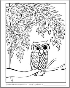 FREE Zenspirations COLORING PAGES to download on this week's Zenspirations…