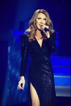 Vegas Show - singing Goldfinger - Celine Dion.