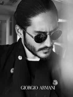 Giorgio Armani Eyewear: Frames of Life Spring/Summer 2014 Campaign image Giorgio Armani Eyewear 006
