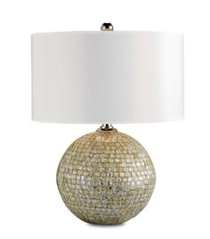 Barbados Shell Overlay Lamp