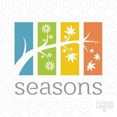 #logo Seasons -  #Purchase Unique Logo Professional in: http://stocklogos.com/user/rossini