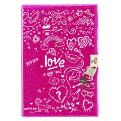 love lockable diary