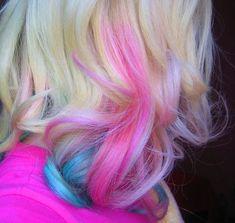 #hair #pastel #dye