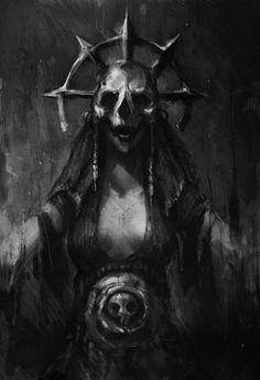 Cultist Acolyte by Fury_on : darkestdungeon