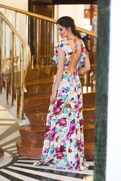 Vestidos elegantes escotados Fiesta Outfit, Casual Dresses, Fashion Dresses, Evening Dresses, Summer Dresses, Summer Outfit, Lovely Dresses, Dream Dress, Dress To Impress