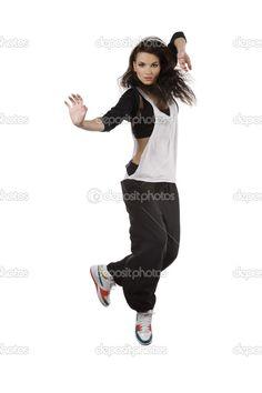 Hip hop dance costume