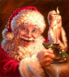 - Happy Christmas - Noel 2020 ideas-Happy New Year-Christmas Christmas Scenes, Father Christmas, Santa Christmas, Christmas Pictures, Christmas Holidays, Santas Vintage, Illustration Noel, Santa Pictures, Family Pictures