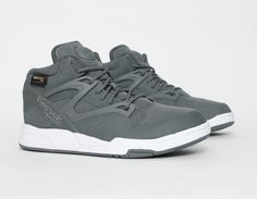#Reebok #Pump Omni Lite Cordura Grey #Sneakers