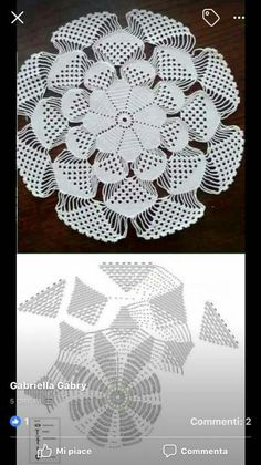 Crochet Butterfly Pattern, Crochet Circles, Crochet Motif, Crochet Lace, Free Crochet, Doily Patterns, Knitting Patterns Free, Crochet Patterns, Thread Crochet