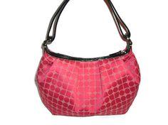 Vintage Kate Spade Pink Satin  Noel  Purse Handbag by PurseGuru, $49.99