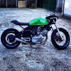 Virago Cafe Racer by Relic Motorcycles