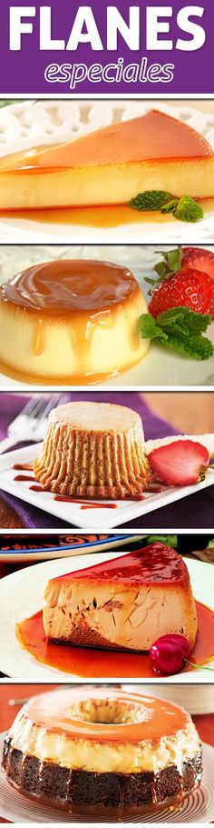 Create the most delicious flan possible with these amazing cooking tips! Whether you like it with caramel on top, fruit flavored or choco-flans. Wiggles Cake, Raspberry Cobbler, Lolly Cake, Marshmallow Cake, Frozen Breakfast, Easy Family Dinners, Cake Flavors, Tres Leches Cake, Food Cakes