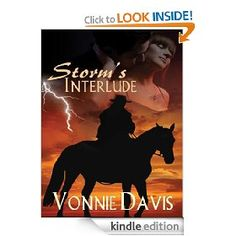 STORM'S INTERLUDE  by Vonnie Davis  STORM'S INTERLUDE nominated as LASR's 2011 Book of the Year.  A Rose of Prose Donation to Spring Fling With Books!