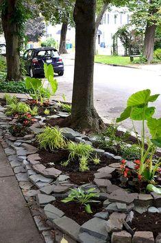 Front Yard Rock Garden Landscaping Ideas (38)