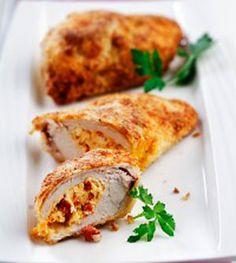 12 stuffed chicken breasts recipes