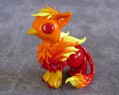 Fire Gryphon by DragonsAndBeasties.deviantart.com on @deviantART