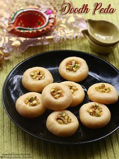 milk peda recipe a easy and quick peda to make.milk peda or doodh peda recipe with condensed milk and milk powder. Peda Recipe, Condensed Milk Recipes, Vegan Recipes, Cooking Recipes, Indian Sweets, Food Crafts, Birthday Balloons, Pakistan, Sweet Treats
