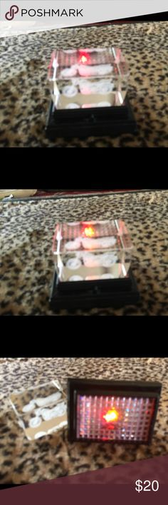 Harley glass cube novelty light Isolating Harley novelty lighted decoration Harley-Davidson Accessories
