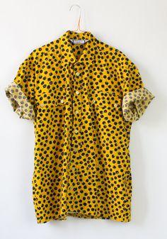 1980s Mens Yves Saint Laurent Shirt by aboyscloset on Etsy