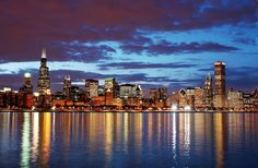 Chicago - my birthplace.