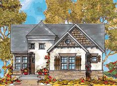 - 42101DB   European, Narrow Lot, Photo Gallery, 1st Floor Master Suite, Butler Walk-in Pantry, CAD Available, PDF   Architectural Designs
