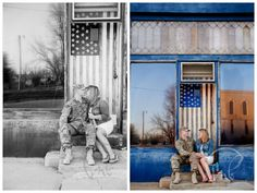 The Essence of America, Welcome Home | Fort Riley, KS Custom Portrait Photographer  LOVE this location