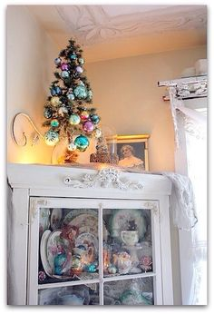 Christmas shabby chic style