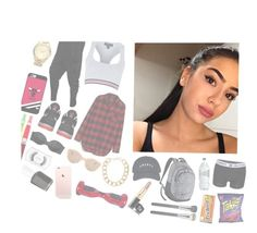 """""""-Royalty"""" by fvcking-hoes ❤ liked on Polyvore featuring Tommy Hilfiger, Topshop, Madewell, Retrò, MICHAEL Michael Kors, Coveroo, Lydell NYC, Illesteva, Victoria's Secret and MAC Cosmetics"""