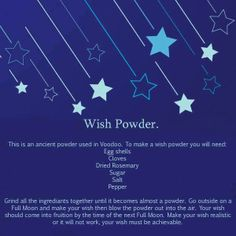 Wish Powder