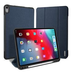 Realistic Fashion Ultra Slim Flip Smart Silk Texture Back Cover Case For Apple Pad 2 3 4 5 6 Air 1 2 Mini 2 3 4 With Sleep Stand Function Phone Pouch
