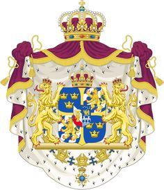 Coat of Arms of #Sweden | #Sverige #heraldry
