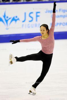 Mao Asada (JPN), .December 20, 2012 - Figure Skating : .All Japan Figure Skating Championships, Official Training .at Makomanai Ice Arena, Hokkaido, Japan. .(Photo by Daiju Kitamura/AFLO SPORT)