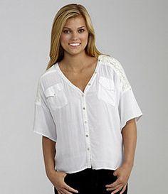 Juniors Tops, Tanks & Tees : Juniors Clothing & Apparel | Dillards.com
