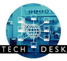 Tech Help at our Tech Desk. Library Events, Help Desk, Tech, City, Cities, Technology