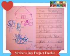 Heidi Songs Mother's Day Project Freebie