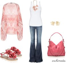 """""""Pink Bohemian"""" by archimedes16 on Polyvore"""