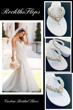 645 Best Bridal Flip Flops Images In 2020 Bridal Flip Flops