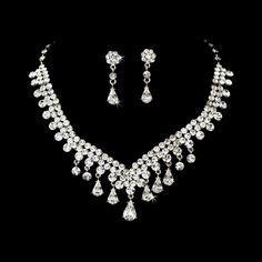 vintage wedding jewelry sets | ... Jewelry- Swarovski Crystal Jewelry Set | Vintage Wedding Boutique