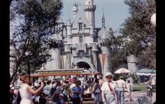 Rare Disneyland Footage From 1956. Click for the enchanting video!
