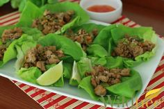 Asian Turkey Lettuce Cups - Wildtree Recipes.  Uses the newly released Asian Spice Blend!  www.mywildtree.com/WildtreeByKC